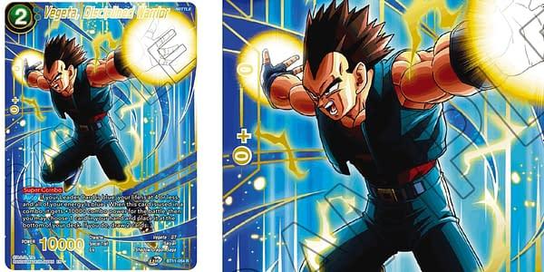 Dragon Ball Super 2021 anniversary cards. Credit: Bandai
