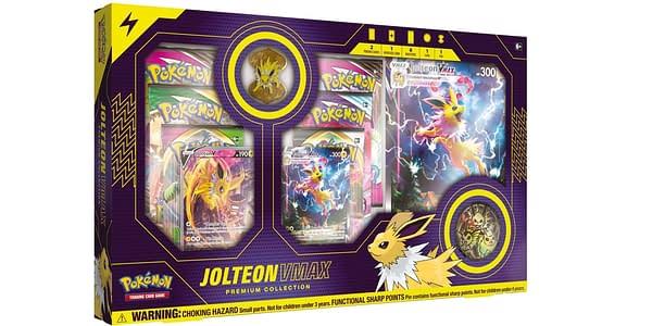 Jolteon VMAX Premium Collection. Credit: Pokémon TCG.