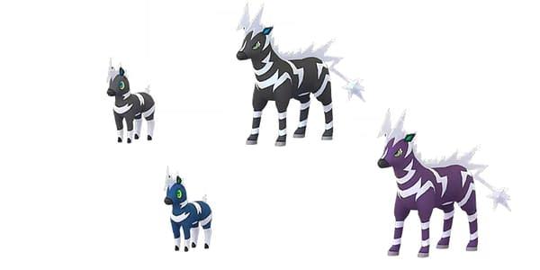 Shiny Blitzle in Pokémon GO. Credit: Niantic