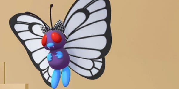 Butterfree in Pokémon GO. Credit: Niantic