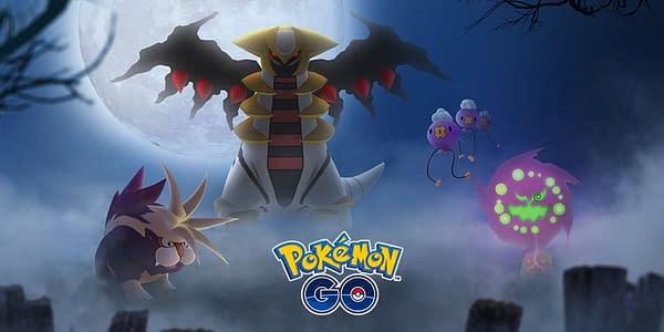 Halloween 2020 graphic in Pokémon GO. Credit: Niantic