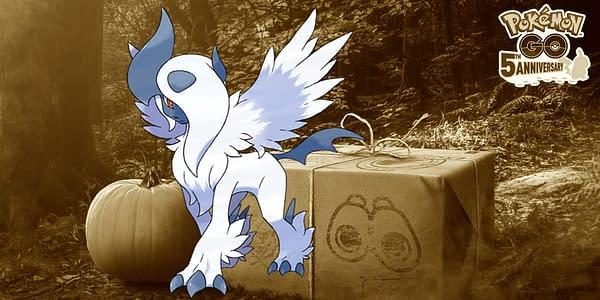 Mega Absol design. Credit: Pokémon Company