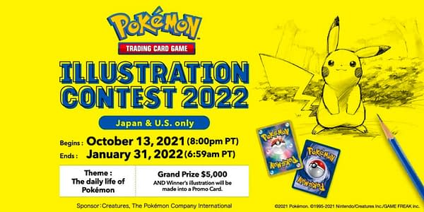 Illustration Contest 2022. Credit: Pokémon TCG