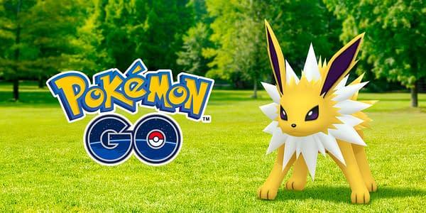 Jolteon in Pokémon GO. Credit: Niantic