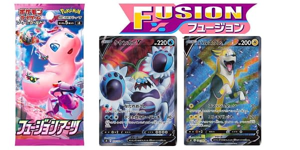 Fusion Arts cards. Credit: Cards of Sword & Shield - Evolving Skies Part. Credit: Pokémon TCG