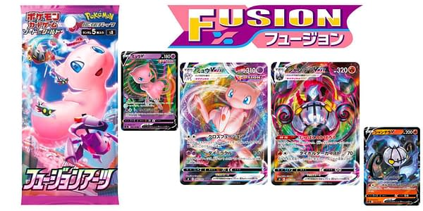 Fusion Arts cards. Credit: Pokémon TCG