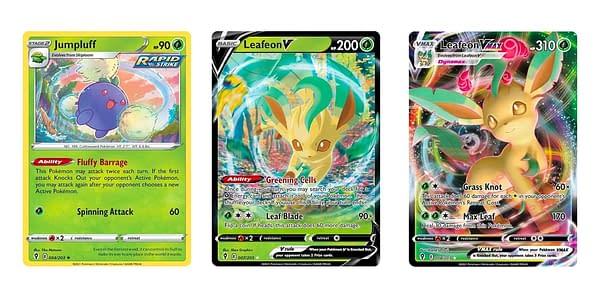 Cards of Evolving Skies. Credit: Pokémon TCG