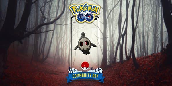 Duskull Community Day graphic for Pokémon GO. Credit: Niantic