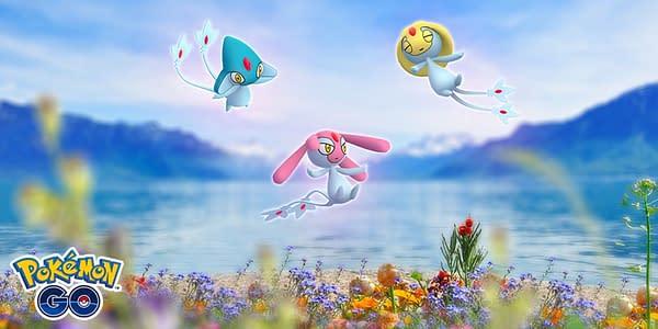 The Lake Trio in Pokémon GO. Credit: Niantic