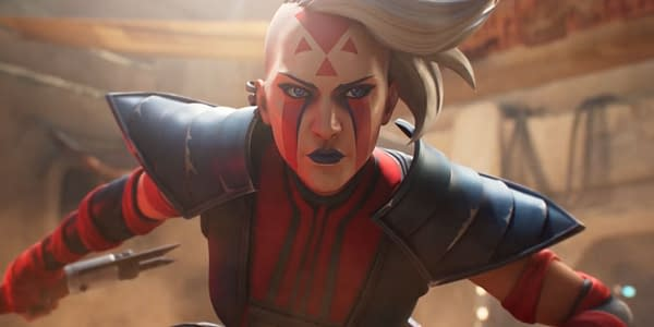 The character Rieve as seen in Star Wars: Hunters, courtesy of Zynga