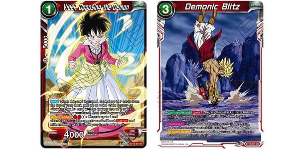 Saiyan Showdown cards. Credit: Dragon Ball Super Card Game