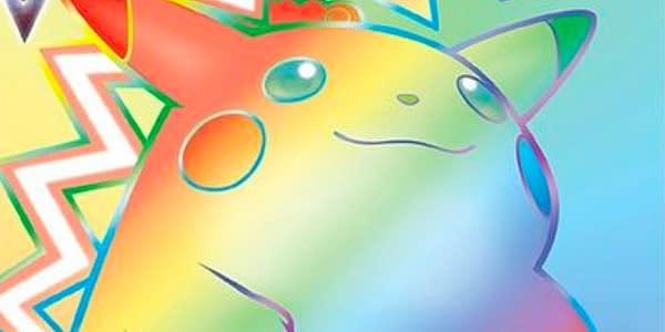 Vivid Voltage Rainbow Rare Pikachu. Credit: Pokémon TCG