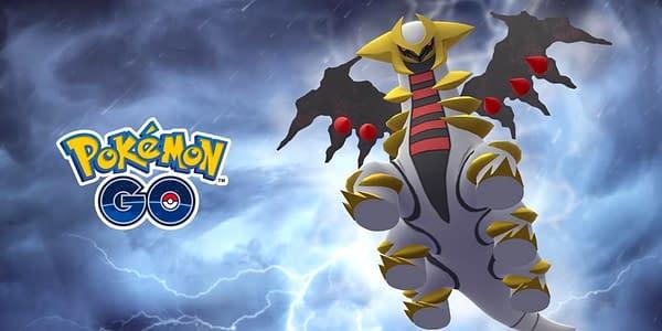 Altered Giratina in Pokémon GO. Credit: Niantic