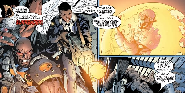 Was Director Devo From X-Men #1 Created by Chris Claremont and Chris Bachalo in 2006?