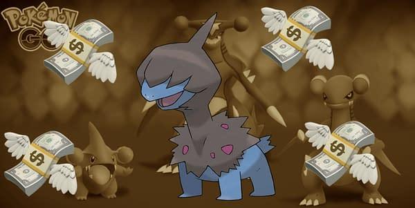 Deino in Pokémon GO. Credit: Niantic