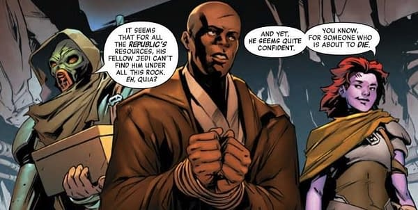Jar Jar Binks Does Not Appear in This Preview of Next Week's Star Wars Age of Republic Special