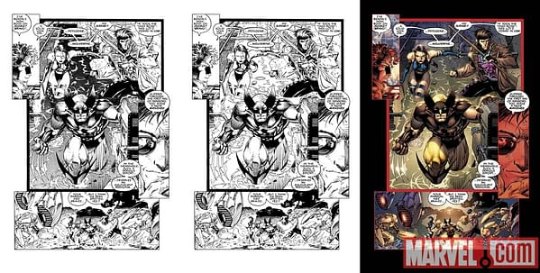 Check Out Pages From Jim Lee And Chris Claremont's X-Men #1 Remastered & Recolored 20th Anniversary Edition