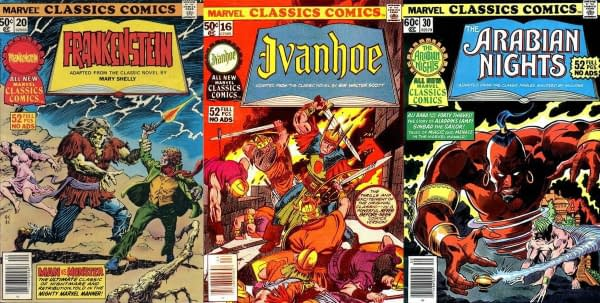Marvel Classics Comics comes to Marvel Unlimited in August