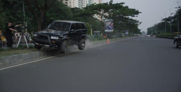 The Raid 2 Car Chase