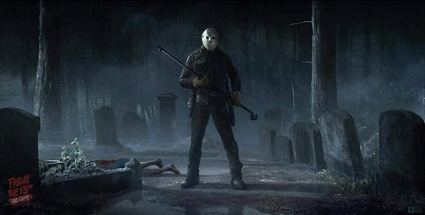 Friday the 13th Game - Gun Media
