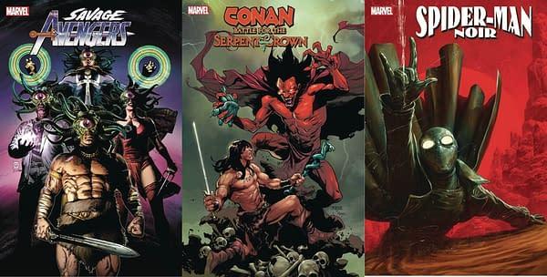 New Dates For Spider-Man Noir, Conan: Serpent Crown, Savage Avengers