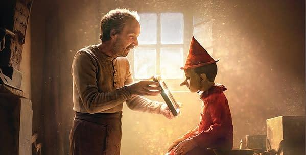 De nouvelles photos d'un autre Pinocchio Drops, arrive aux théâtres à Noël