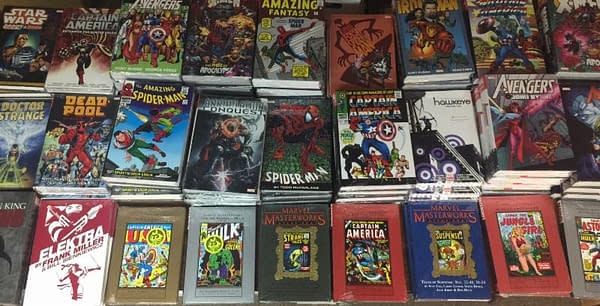 Larry's Comics Offers The Marvel Masterworks, Hardcovers, And Omnibus Liquidation