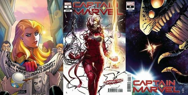 Captain Marvel #8 Now a $25 Comic