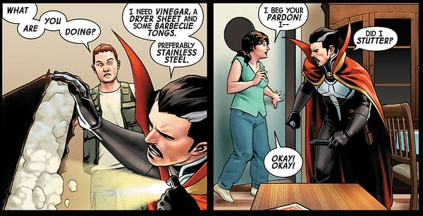 Doctor Strange #18 – The Perfect Super-Hero Comic Book That You May Just Miss Today