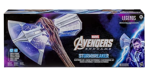 Thor's Stormbreaker Comes to Life with Marvel Legends Replica from Hasbro