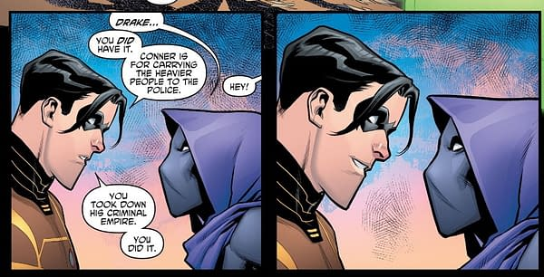 It's Official - Drake No More, Just Call Him Robin (Teen Titans #18)