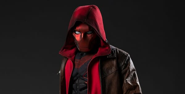 Titans presents a first-look at Red Hood (Image: HBO Max)