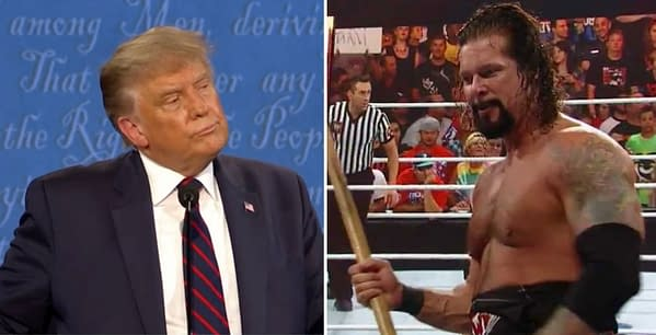 Kevin Nash is outspoken about his dislike of fellow WWE Hall-of-Famer President Donald Trump