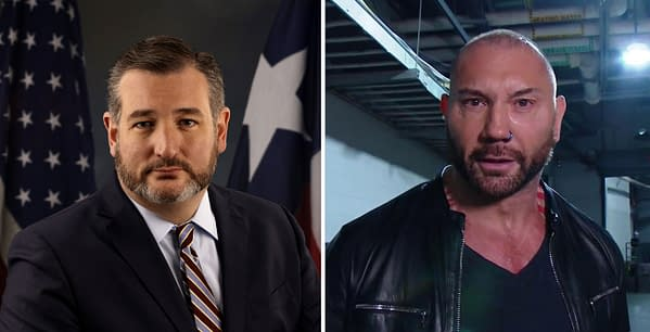 Dave Bautista has no love for Texas Senator Ted Cruz
