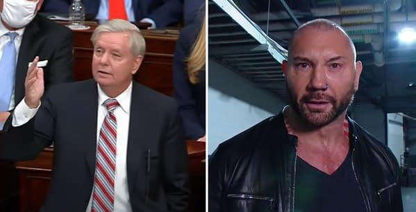 Dave Bautista has no love for Senator Lindsay Graham