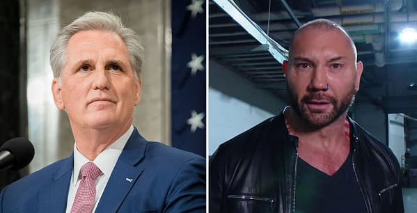 Dave Bautista has no love for House Minority Leader and traitor to the United States Constitution, Congressman Kevin McCarthy