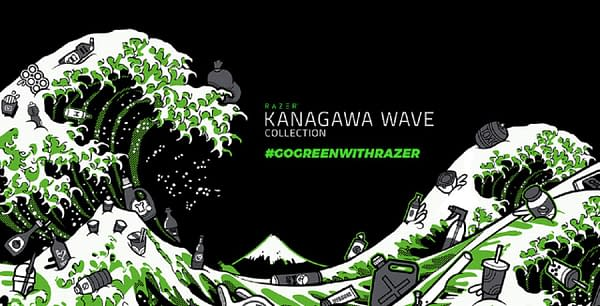 A look at the wave artwork found on all of the designs, courtesy of Razer.