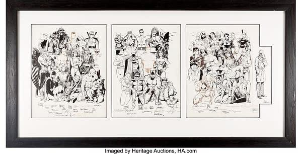 History Of DC Original Artwork At Auction - Kirby, Kane, Kubert +