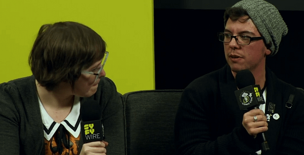 Sarah Graley and Sfé Monster on the Non-Binary Appeal of a Minecraft Comic at ECCC