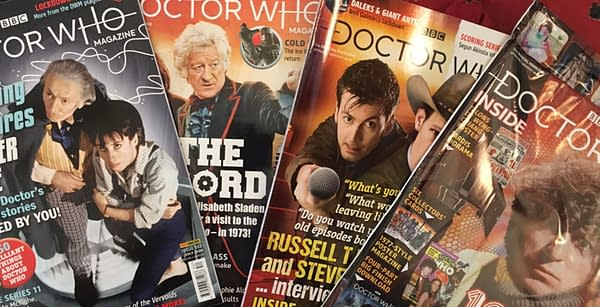 Some Doctor Who Magazines and 2000AD Finally Arrive in the USA