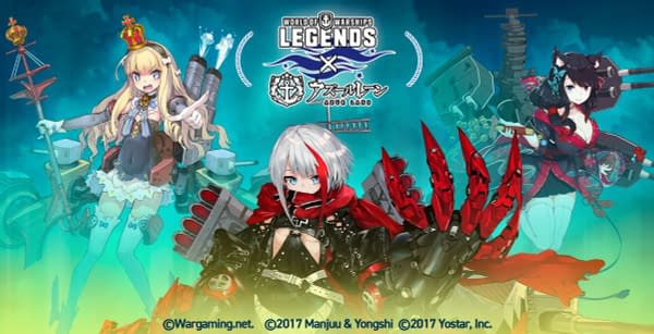 The second wave of Azur Lane comes to the game, courtesy of Wargaming.