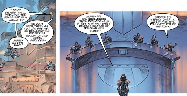 Defund Judge Dredd - 2000AD Is Telling A Very Different Story