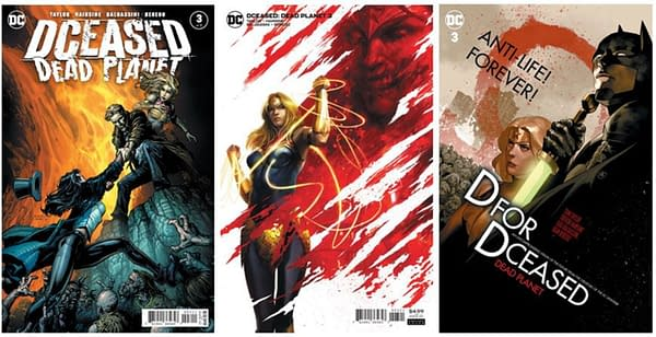 Lost In Transit To The UK: DCeased, Dreaming and Sacred Six?