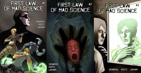 A Comic Book Revolution, Kind Of. Or How First Law Of Mad Science Became A Household Name