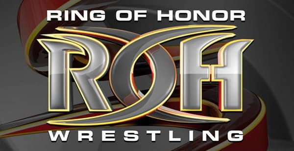 The official logo for Ring of Honor wrestling.