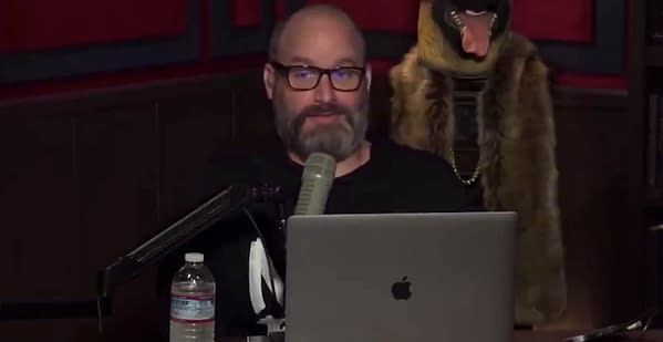 Comedian Tom Segura insults wrestling fans on his podcast.