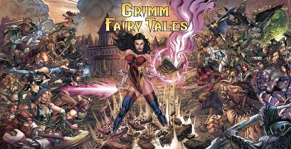 Grimm Fairy Tales #50. Credit: Zenescope