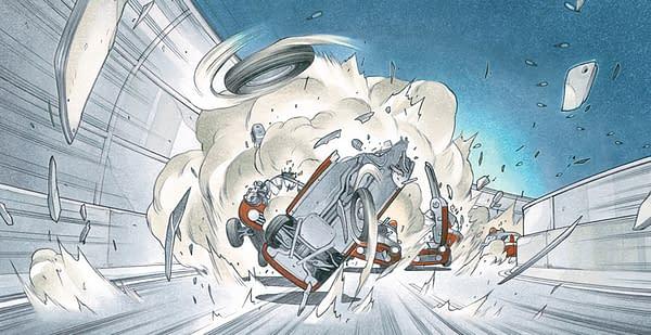 Small World: Magnetic Press Unveils Kickstarter for Cyberpunk Fantasy