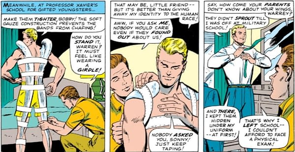 When Iceman Had The Hots For Angel