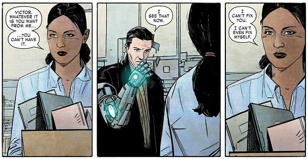Brian Michael Bendis Leaves Marvel a Very Special Present from Doctor Doom (Final Page Spoilers for Invincible Iron Man #598)